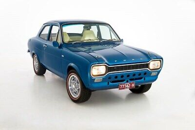 AU57500 • Buy 1970 Escort Mk I Coupe Ford Fully Restored 2L Pinto Auto T-Bar Cosmic Blue 2dr