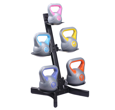 AU75 • Buy  5 Piece Kettlebell Rack Heavy Duty Steel Structure Home Gym (Rack Only)