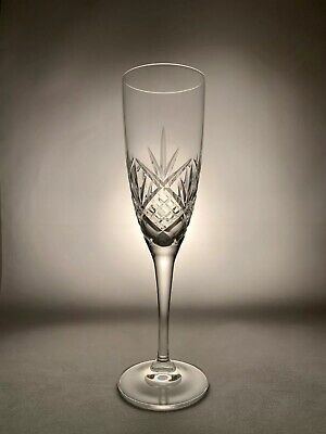 Royal Doulton Crystal HELLENE Cut Champagne Flute Or Flutes 8 1/4  21 Cm Tall • 19.99£