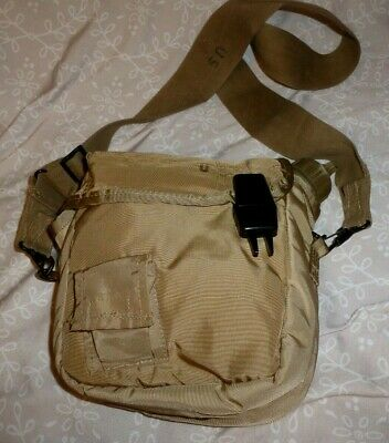 $ CDN23.71 • Buy Vintage Military  2 QT Collapsible Canteen With Pouch And Shoulder Strap