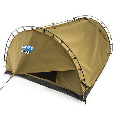 AU229 • Buy Adventure Kings Big Daddy Deluxe Double Swag Camping Tent Hiking Dome Mattress