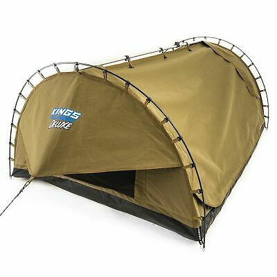 AU249 • Buy Adventure Kings Big Daddy Deluxe Double Swag Camping Tent Hiking Dome Mattress