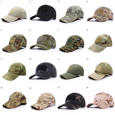£6.74 • Buy Men Tactical Operator Camo Baseball Cap Military Army Special Forces Airsoft Hat