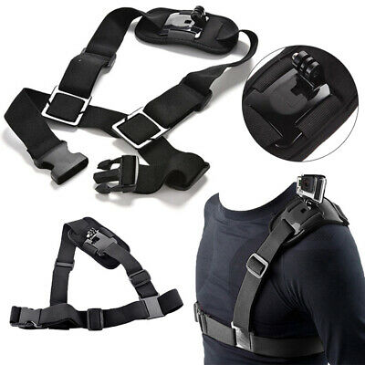 AU8.99 • Buy Adjustable Shoulder Strap Mount Harness For GoPro Hero Camera Chesty Accessories