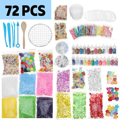 AU21.02 • Buy Slime Supplies Kit Foam Beads Charms Styrofoam Balls Tools For DIY Slime  э ρ