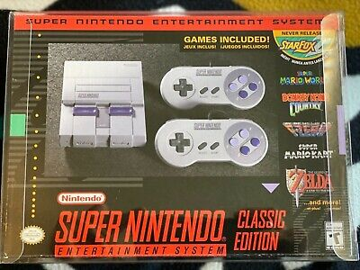 $ CDN264.29 • Buy Authentic SNES Classic Mini Game Console USA Brand New