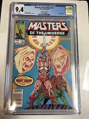 $186.46 • Buy Master Of The Universe (1986) # 1 (CGC 9.4 WP) - CPV (Canadian Price Variants)