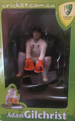 AU150 • Buy Adam Gilchrist Figurine Brand New Never Taken Out Of The Box The Box A Bit Worn
