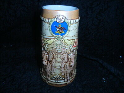 $ CDN24.81 • Buy Vintage 1980 Anheuser Busch Budweiser Chicago Skyline Limited Edition Beer Stein