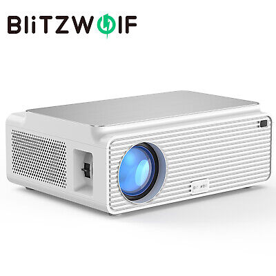AU299 • Buy Blitzwolf BW-VP2 6500 LM 4K 1080P HD LED Home Theater Projector + Speaker Remote