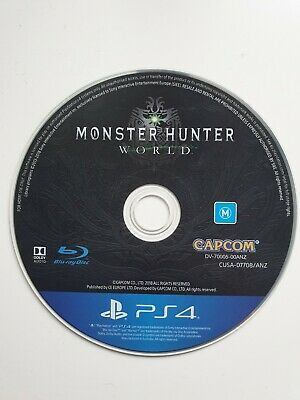 AU20 • Buy Monster Hunter World For PS4 (game Only)