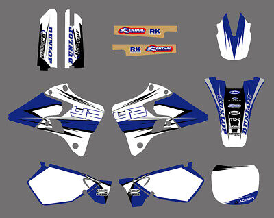 AU79.98 • Buy Motorcross Decal Sticker Graphic Kit For Yamaha YZ125 YZ250 1996-2001