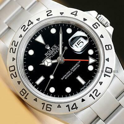 $ CDN9065.86 • Buy 2006 Mens Rolex 16570t Explorer Ii Gmt Z Serial Stainless Steel 40mm Watch