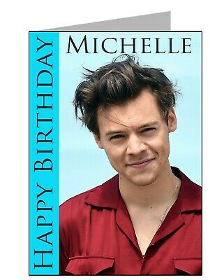£5.25 • Buy Harry Styles Birthday Card (A5) - PGS3020GC - FREE UK POSTAGE