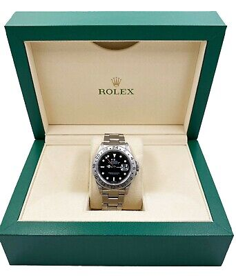 $ CDN8414.54 • Buy Rolex Explorer II Black Dial 16570 Stainless Steel