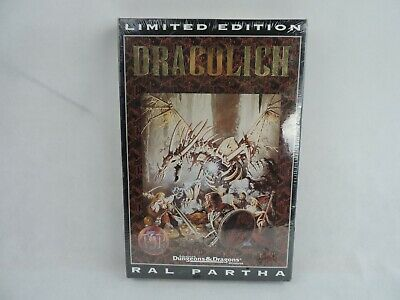 AU1154.90 • Buy Vintage Dungeons Dragons Dracolich Limited Edition Ral Partha Figure SEALED Rare