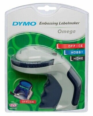 Dymo Omega Embossing Home Label Maker With Intuitive Turn-And-Click System • 19.99£