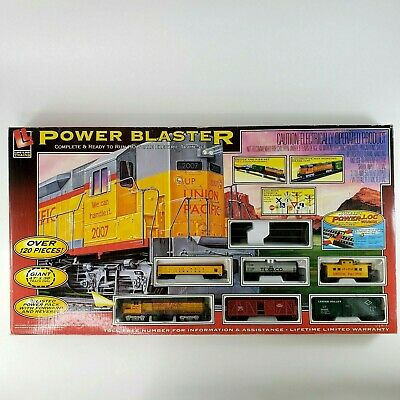 $ CDN158.30 • Buy Life-Like Electric Trains Power Blaster HO Giant Ready To Run Set Factory Sealed