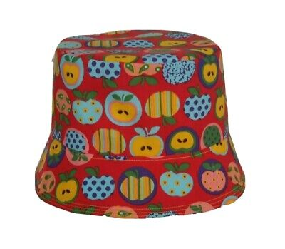 New Reversible Apple Bucket Hat/sun Hat. Festivals. The Stone Roses. Quirky. • 5.75£