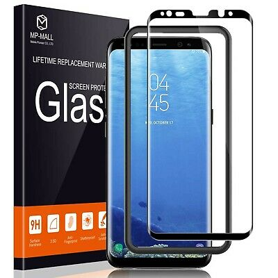 $ CDN17.04 • Buy MP-MALL Screen Protector For Samsung Galaxy S8, [Tempered Glass] [Full Co... New