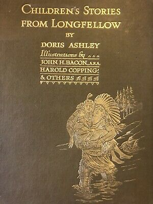 £40 • Buy Children's Stories From Longfellow - Hiawatha - Illus By Harold Copping & Others