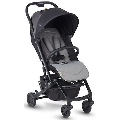 Micralite Profold Compact Baby Stroller Pushchair Carbon • 274.99£