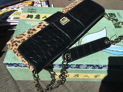 AU22.80 • Buy 30x12 Cm JAG Leatherette Clutch Bag NWOT Unwanted Gift
