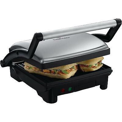 Russell Hobbs 3-in-1 Panini Press, Grill & Griddle, Stainless Steel - Non-Stick • 42.55£