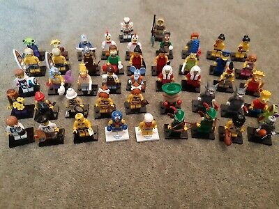 Lego Collectable Minifigures - Select Your Character • 8£