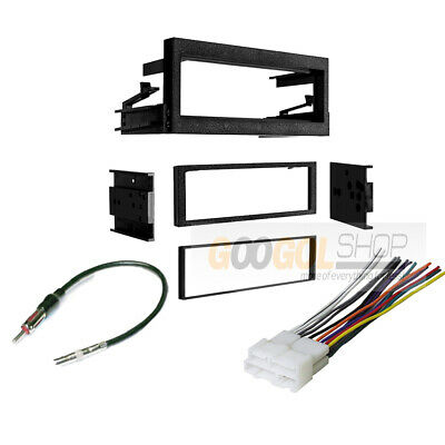 $39.99 • Buy Single DIN Car Stereo Radio Install Kit Wring Harness For 1995-2002 GMC & Chevy
