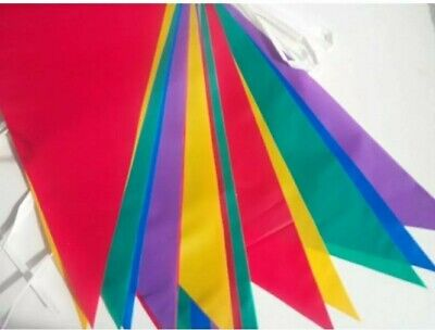 £1.79 • Buy 33 Feet 20 Flags Multi Colour Banner Bunting Party Home Garden Decoration