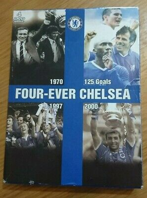 Four Ever Chelsea Dvd Inc FA Cup Final 1970 1997 2000 • 14£