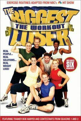 The Biggest Loser The Workout Dvd New Tv Game Show Reality Tv Exercise Fitness • 7.76£