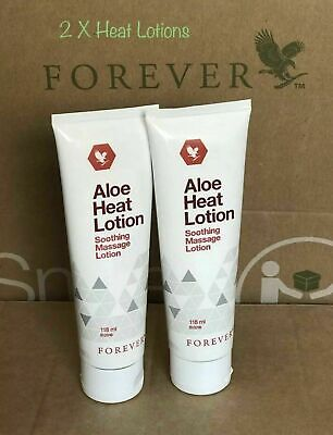 £21.95 • Buy 2 X Forever Living Original Aloe Heat Lotion Soothing Massage Lotion 118/ml New