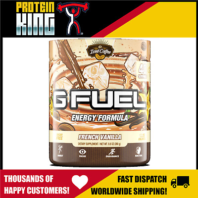 AU67.95 • Buy Gamma Labs G Fuel Energy Formula 40 Srv French Vanilla Pre Workout Gfuel Gaming