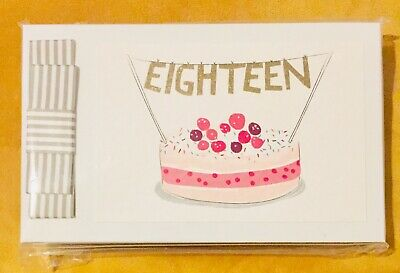 18th Birthday: Lovely Special Pocket Photo Album By Belly Button Designs 18 Gift • 7.50£