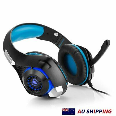 AU34.99 • Buy Gaming Headset Bass Headphone For Playstation PS4 Xbox One PC Game H1Z1 IPhone