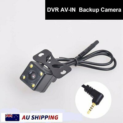 AU23.99 • Buy Car Backup Cam 2.5mm AV-IN For Auto Dash Camera DVR Camcorder Black Box GPS Tab