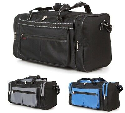 Large Travel Holdall Durable Lightweight Cargo Cabin Flight Sport Gym Bag 20  • 11.99£