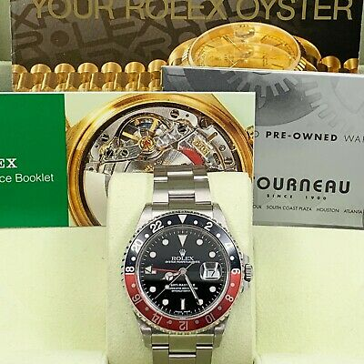 $ CDN15327.42 • Buy Rolex GMT Master II 16710 Red And Black Coke Stainless Box Booklets UNPOLISHED