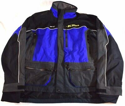 $ CDN201.07 • Buy Klim XCR Size XL Mens Goretex Blue Snowmobile Riding Jacket + FAST SHIPPING!!!