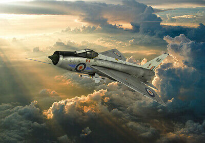 £14.99 • Buy English Electric Lightning RAF Canvas Print Various Sizes Free Delivery