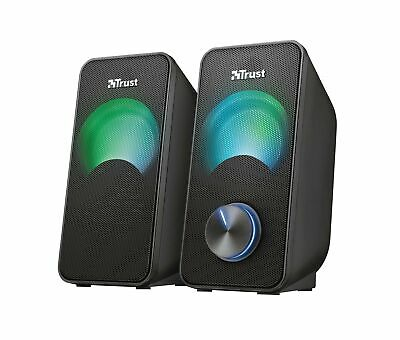 Trust Arys Compact RGB 2.0 PC Speakers For Computer And Laptop, 12 W, USB Power • 22.22£