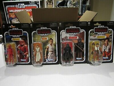 $ CDN100 • Buy Star Wars Vintage Collection The Rise Of Skywalker 3.75  Carded Figures Lot