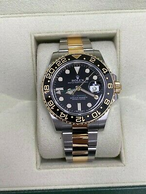 $ CDN15673.26 • Buy Rolex GMT Master II 116713 Ceramic 18K Yellow Gold Stainless Steel