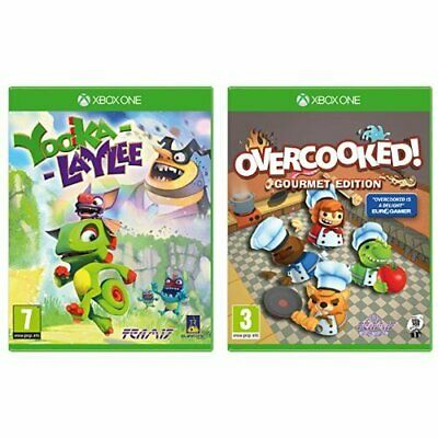 AU34.95 • Buy Yooka Laylee  Overcooked Xbox One
