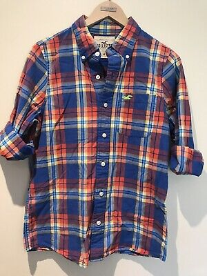 AU15.90 • Buy Hollister Checked Shirt M