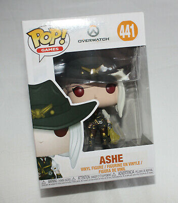 AU19 • Buy Overwatch Ashe Funko Games #441 Pop! Vinyl Figure New