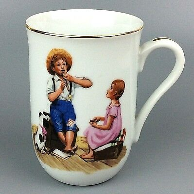 $ CDN10.53 • Buy Norman Rockwell Art Music Master Coffee Tea Mug Cup Vintage 1986 The Museum