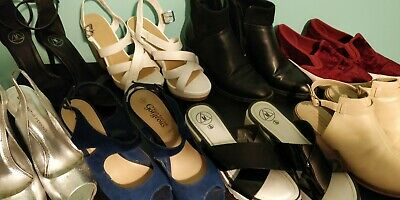 8 Pairs Of Ladies Shoes, D P Missguided Topshop Gorgeous New Look Zara Size 6 • 40£